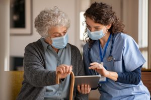 The annual rate of infection occurrence in nursing homes in the US has exceeded two million
